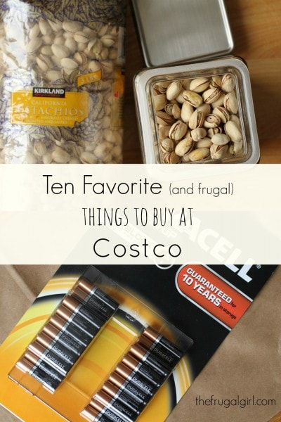 Top Ten Things to Buy at Costco - The Frugal Girl