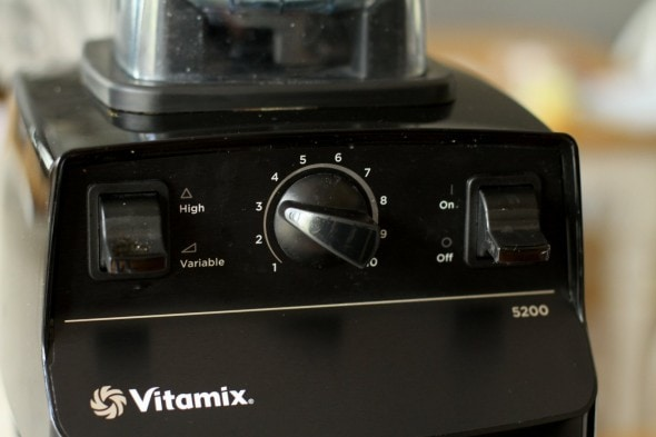 basic vitamix controls