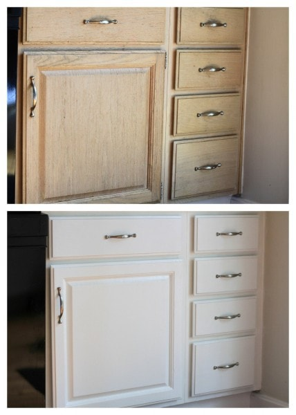 July 2013 & How to Paint Kitchen Cabinets - The Frugal Girl