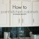 Thumbnail image for How to Paint Kitchen Cabinets