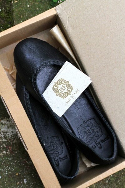 bali ELF shoe box