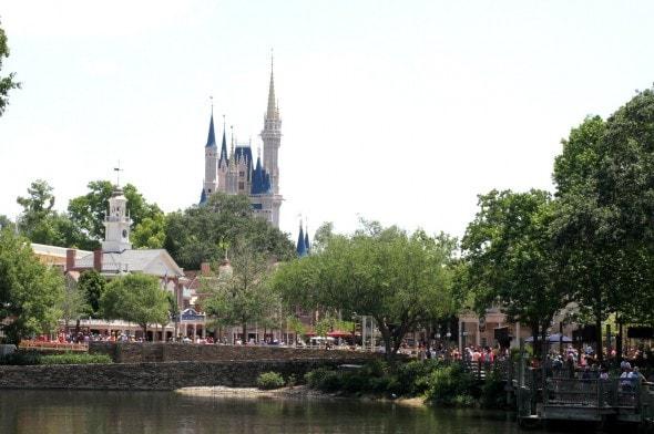 Cinderella Castle at Magic Kingdom.