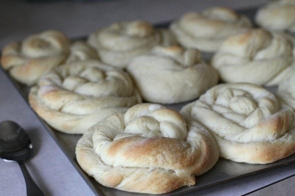 underbaked sweet rolls