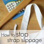 How to stop sundress strap slippage