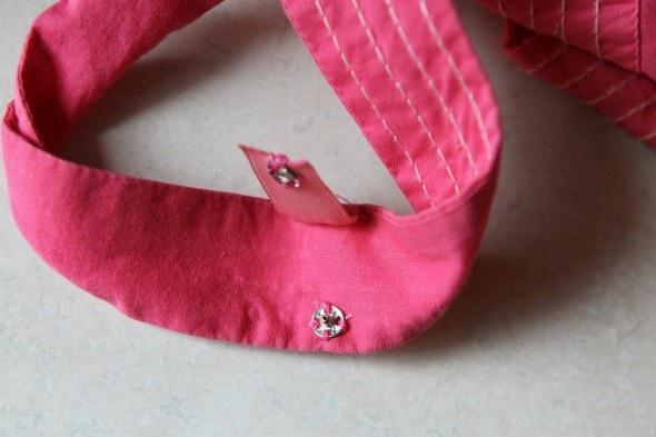 sundress bra strap holder