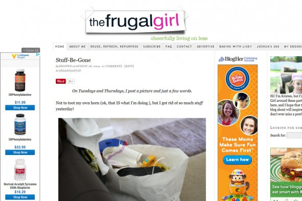 The Frugal Girl —