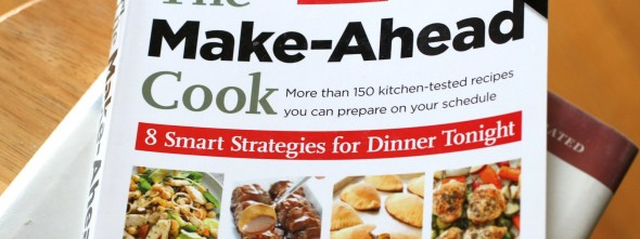 The Make Ahead Cook from ATK