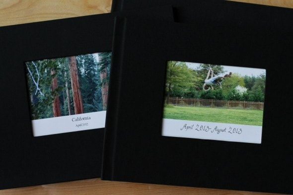 fabric photo book covers