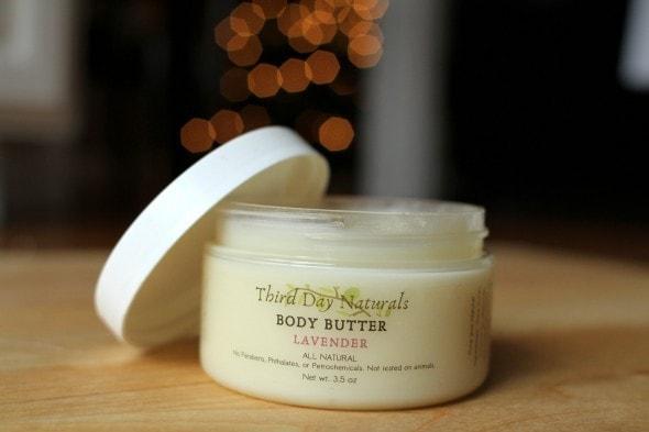 third day naturals body butter