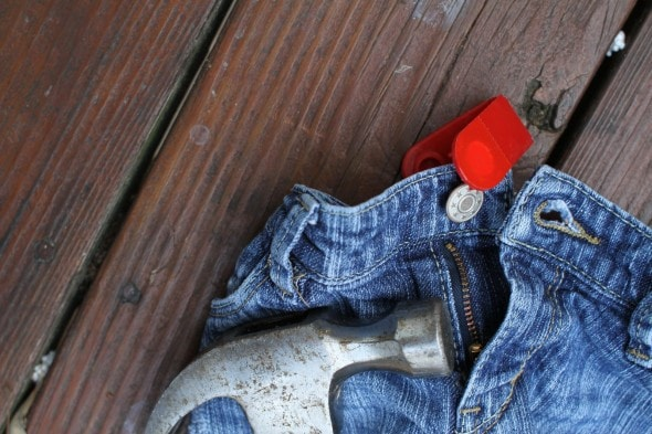 how to fix button on kids jeans