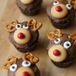 reindeer cupcakes from Aldi