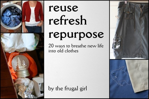 how to repurpose old clothes