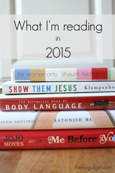 The Frugal Girl's 2015 Reading List
