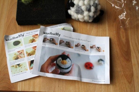woolbuddy felting kit directions
