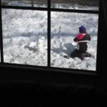 Zoe, the faithful snowman builder