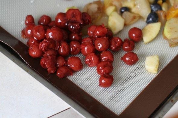 frozen canned cherries