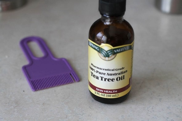 how to get rid of lice with tea tree oil (instead of insecticide, Skeleton