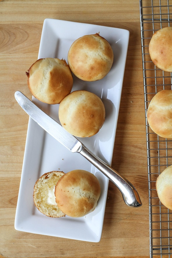 How to make easy, no-knead yeast rolls