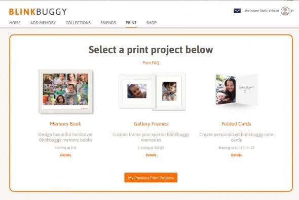 Blinkbuggy print offers