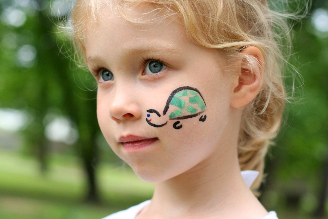 easy face painting designs - 1024×683