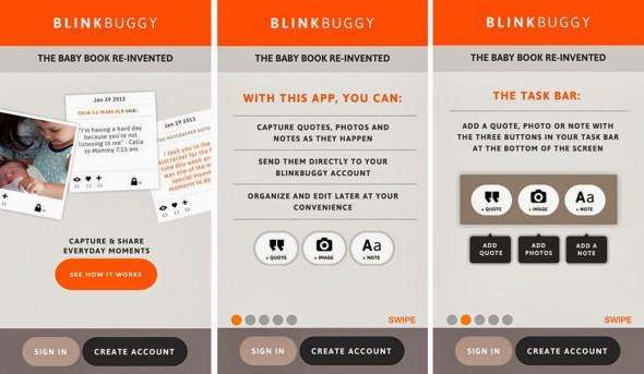 Blinkbuggy phone app