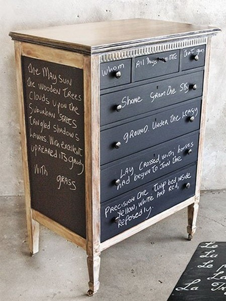 5 Er Friendly Chalkboard Paint Ideas A Dresser
