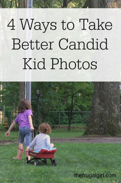 4 Ways to take Better Candid Kid Photos