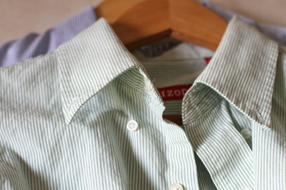 how to keep dress shirt collars safe in the wash