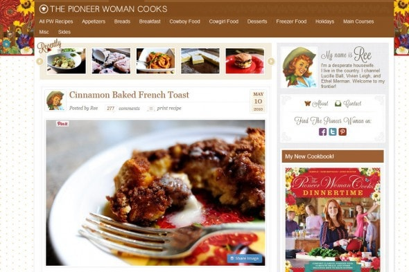 Cinnamon Baked French Toast  The Pioneer Woman Cooks  Ree Drummond - Mozilla Firefox 732015 75516 AM