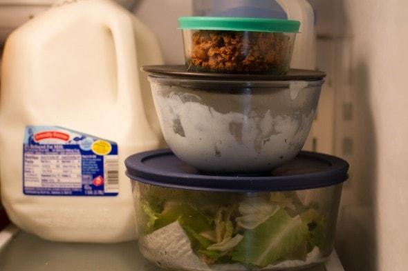 leftover taco salad