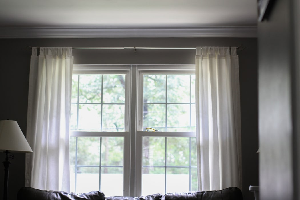 Too high, too low, just right? (curtain rod height issues!) - The ...