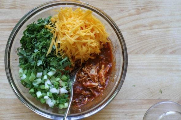 chicken enchilada filling