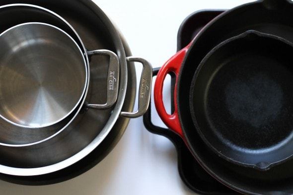 frugal girl cookware