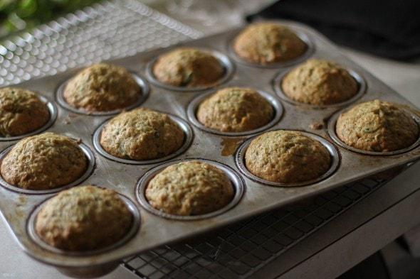 simply recipes zucchini muffins