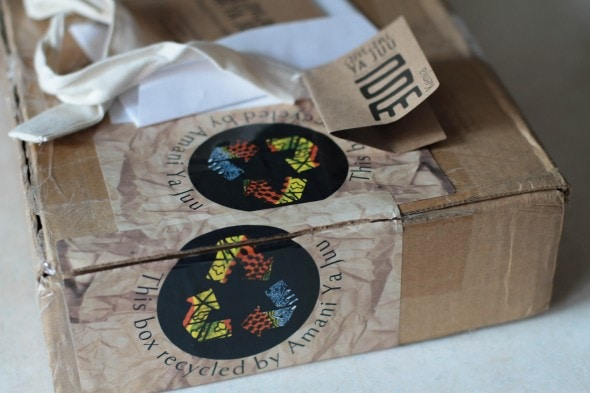 amani recycled packaging