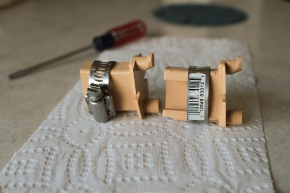 how to fix a merillat bracket