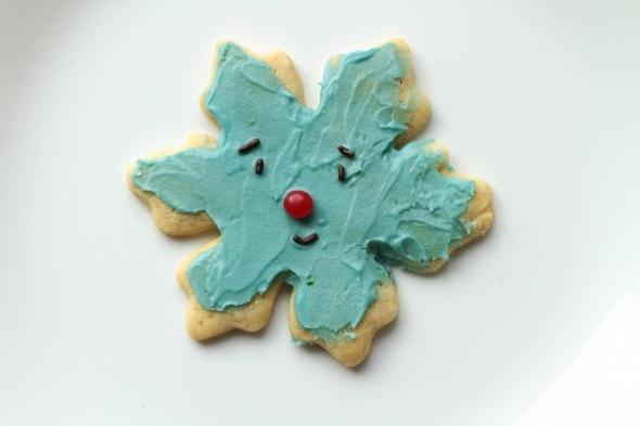 cute snowflake cookie
