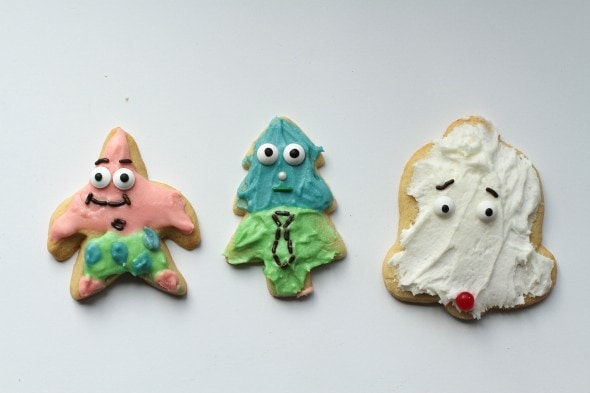 patrick star cookie