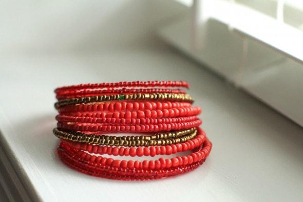 amani beaded bracelet