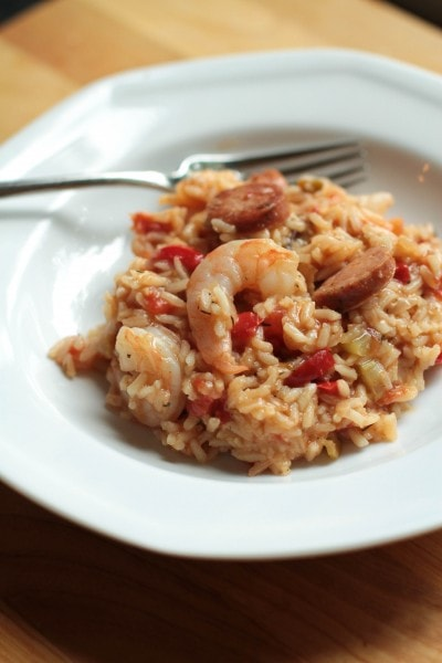 Homemade Jambalaya Recipe | The Frugal Girl