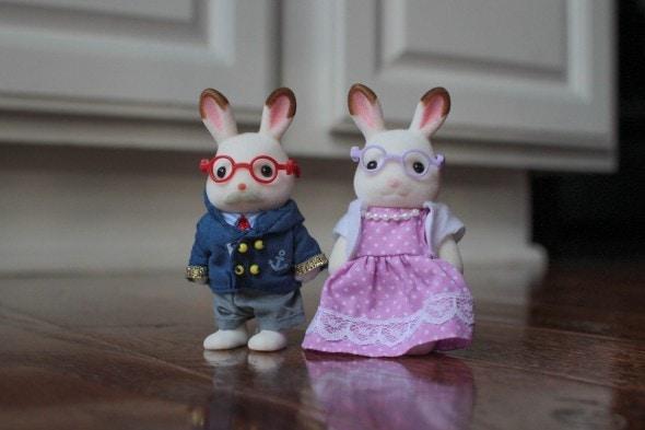 calico critter rabbit grandparents
