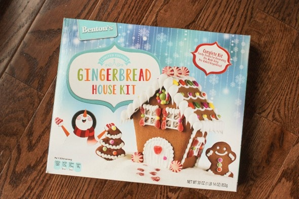 Gingerbread House Kit from Aldi