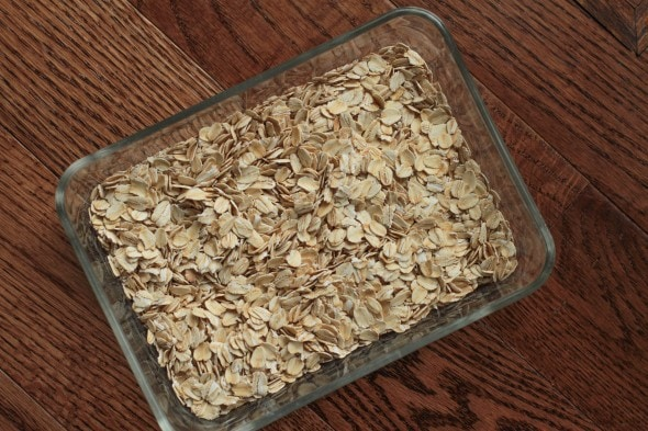 use oatmeal to dry wet cell phone
