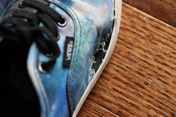 vans falling apart