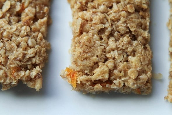 orange coconut granola bar