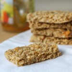 Chewy Orange & Coconut Granola Bars