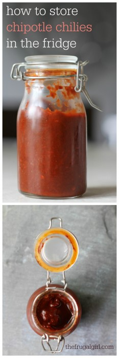 how to store chipotle chilies