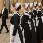 downton abbey maids
