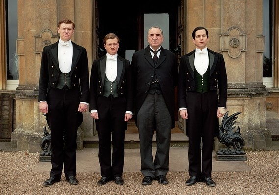 downton abbey butlers