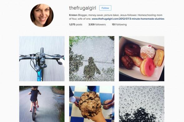 Kristen (@thefrugalgirl) • Instagram photos and videos - Mozilla Firefox 7192016 95524 AM